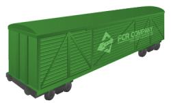 Железнодорожный крытый вагон