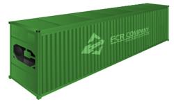 45» HC (45-ти футовый high cube рефрижераторный контейнер)